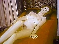 THE LOOK OF LOVE - vintage striptease big boobs & lingerie