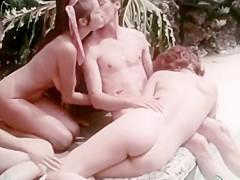 Uschi D. John Holmes: all natural orgy Pt. 2 (1972)