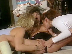 Francesca Tyffany And Jeanna In Vintage Lesbian 3sum