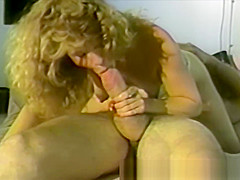 Gorgeous Blonde Fucked in Classic Porno