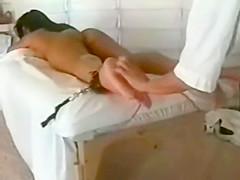 A ticklish massage