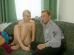 Blonde Retro Teen Street Casting Interview - What series is this from?