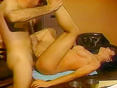 Sexy Action As These Babes Fuck In Retro Scenes