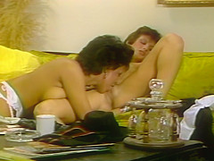 Vintage Babes Having Passionate Sex At Home