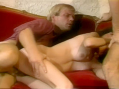 Vintage Porn With Some Hot Women Banging In Library