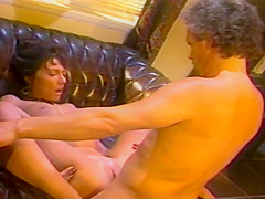 Redhead Vintage Babe And Brunette Fucked In Various Scenes