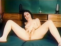 Vintage Enhanced: Kirsten pulls 3 bbc creampie train as boyfriend watches
