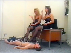 Office Girls & Riding Mistresses British Femdom Cruella Humiliated Slave