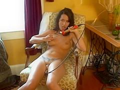 Juicy cherry slut pussy pump