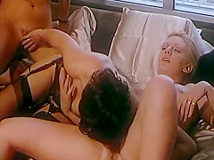 Horny classic movie with Sonia Blera and Guy Royer