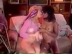 Crazy squirt retro video with Joey Silvera and Trinity Loren