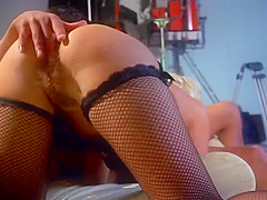 Exotic retro clip with Laura Clair and Andre Kay