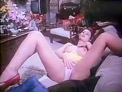 Crazy vintage video with Christine Black and Gérard Kikoine