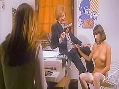 Crazy facial classic video with Jacques Gatteau and Michel Dauba