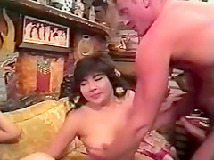an clips oriental slant with Anal