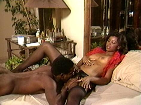 Ebony pornstar sade