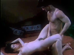 Fabulous latin vintage scene with Nina Hartley and Amber Lynn