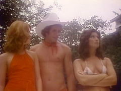 Exotic black classic clip with Bill Nunnery and Clea Carson