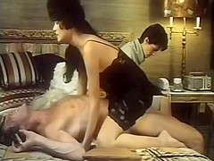 Hottest lesbian retro movie with Taija Rae and Tom Byron