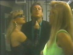 Amazing black classic clip with Lauren Brice and Gregor Samsa