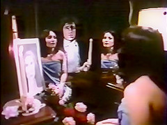 Exotic facial vintage movie with David Ruby and Terry Yule