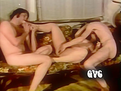 Best black retro scene with Vicky Lovelace and Jonathan Younger