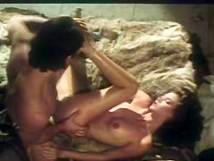 Amazing anal vintage scene with Angel and Stevie Taylor