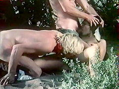 Crazy facial classic video with Aldo Ray and Jon Hollabaugh