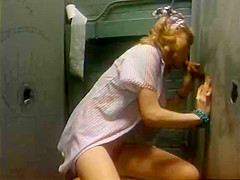 Horny classic scene with Henri Pachard and Sharon Kane