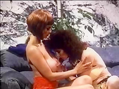 Fabulous lesbian classic clip with Seka and Mike Horner