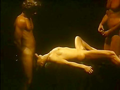 Horny fisting classic video with John Leslie and Jesie St. James
