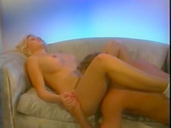 Exotic lesbian vintage movie with Tonisha Mills and Stuart Canterbury