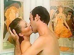 Amazing facial classic movie with Mark McIntire and Anthony Spinelli