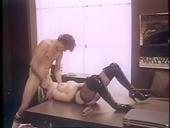 Hottest facial retro movie with Kitty Shane and John Holmes