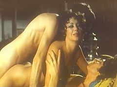 Incredible double penetration vintage clip with Harry Reems and Erica Havens