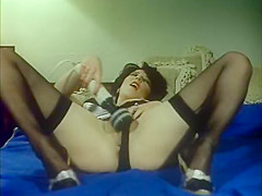 Horny facial vintage movie with Lisa B. and Marc Valentine