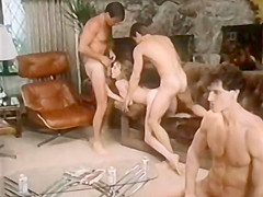 Horny anal classic clip with Cheri Janvier and Sasha Gabor
