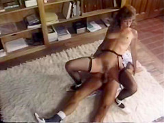 Fabulous anal vintage scene with Dan T Mann and Brittany Stryker