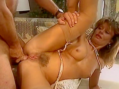 Exotic classic video with Sabrina Darmon and Dominique Saint-Clair