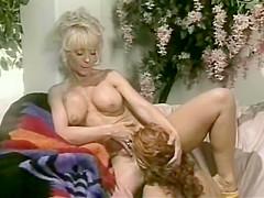 Incredible retro clip with Debi Diamond and Nina Hartley