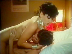 Horny vintage video with John Leslie and Sharon Mitchell