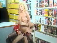 Sex-Shop-Live Vom Arsch-zum Faustfick