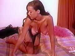 CALIFORNIA DREAMING - vintage striptease girl stockings