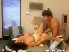 Porn slut fucked on her office desk
