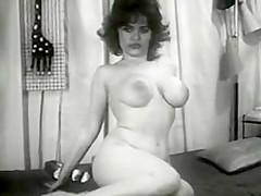vintage 1950s pussy strip