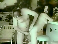 Fabulous vintage sex scene from the Golden Time