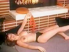 FIRE - vintage nylons striptease dance stockings big boobs