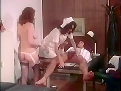 Vintage Doctor's Office Threesome