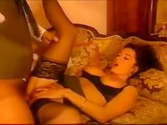 Nice vintage scene with Erika Bella