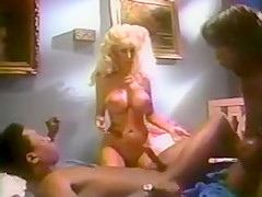 Betty Boobs (Blond), Ebony Ayes (Black) & Peter Lawrence